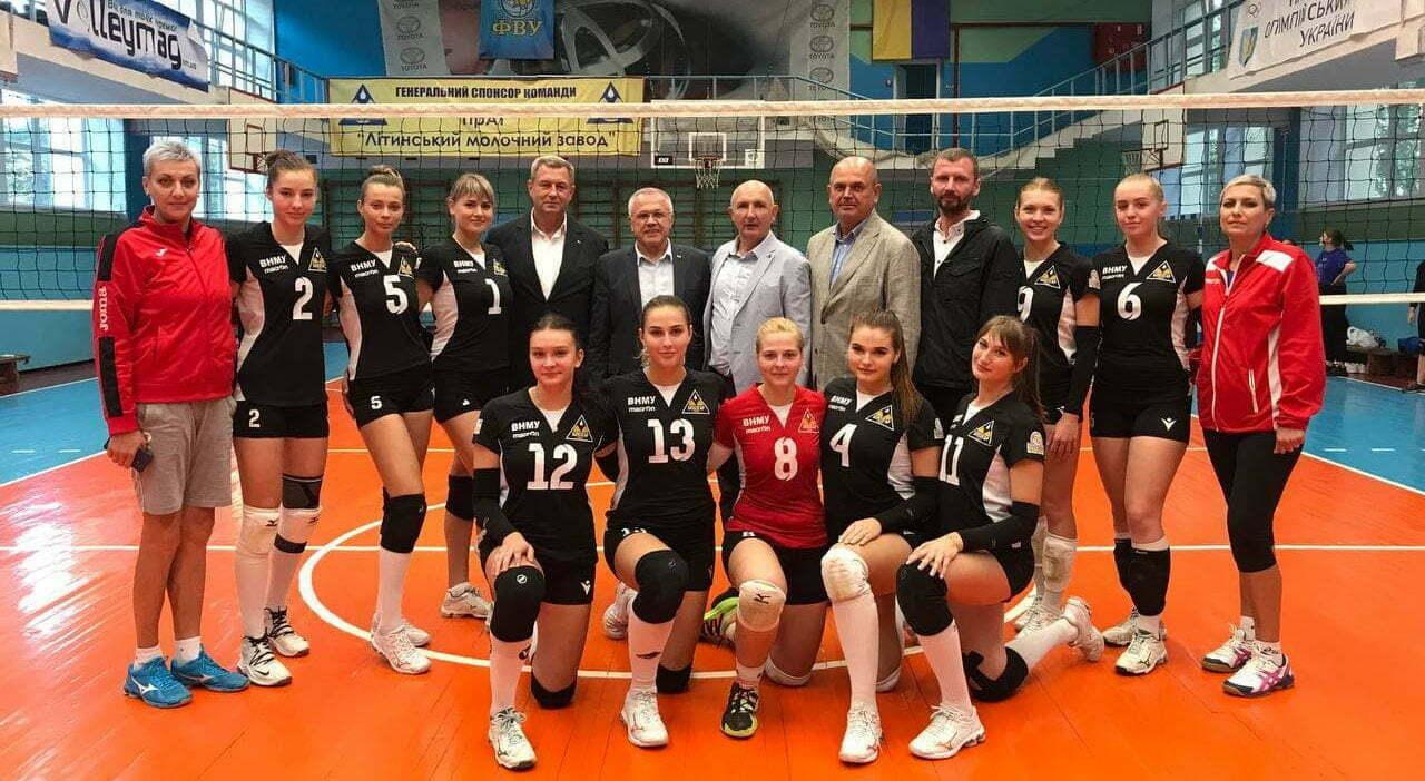 Компанія «МБР» стала спонсором вінницької волейбольної команди